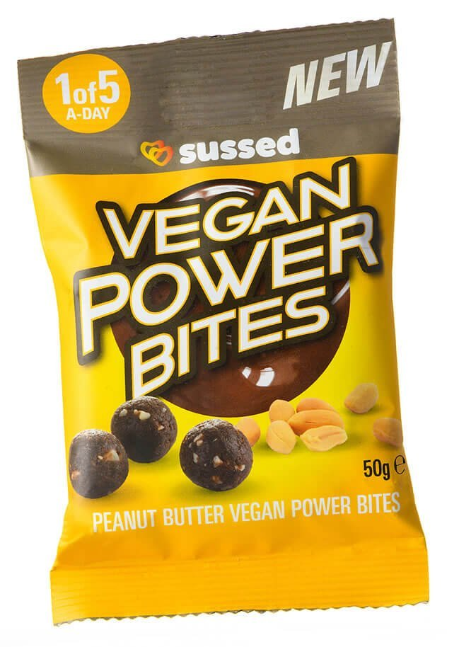 sussed Power Bites Peanut Butter