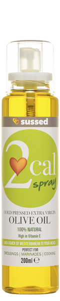 sussed 2cal olive oil spray