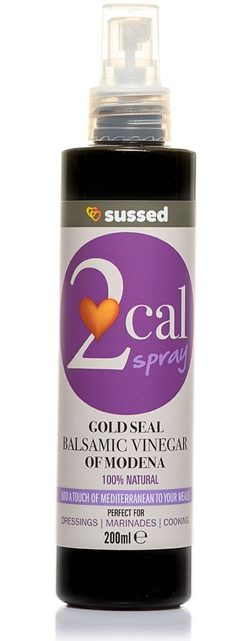 sussed 2cal spray gold seal balsamic vinegar of modena