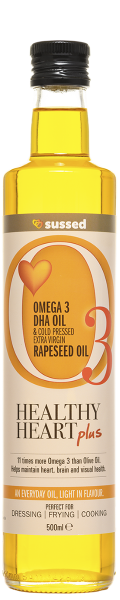 sussed healthy heart plus rapeseed oil